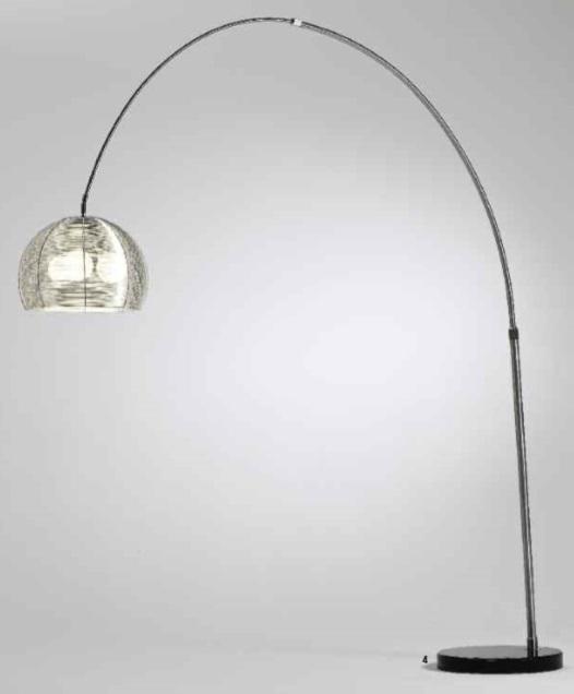 Modern Chrome Floor Lamp Shade New York Jds Furniture